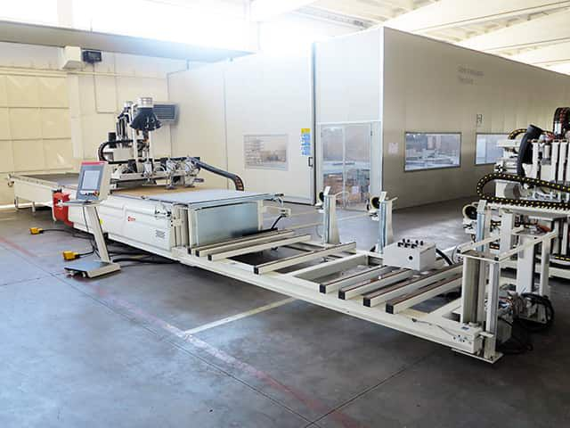 SCM PRATIX 15N, Machine Centre with NESTING Table