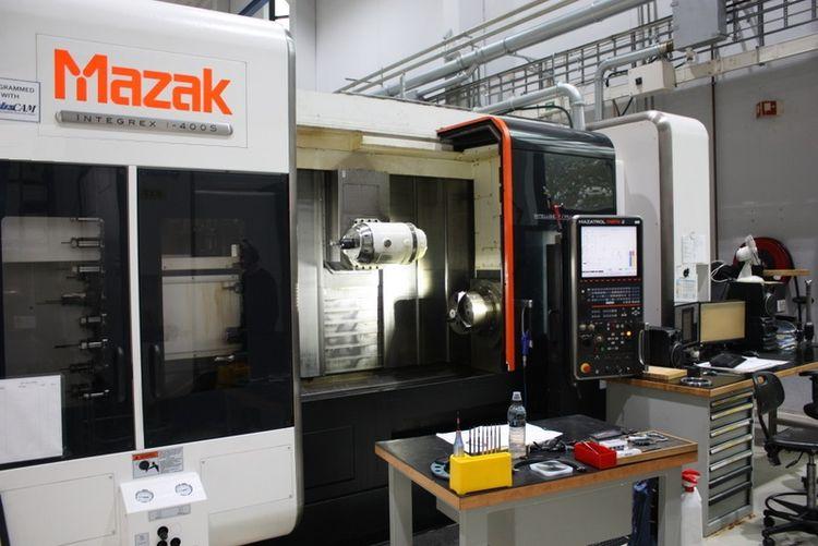 Mazak Mazatrol Matrix 2 control 12000 rpm Integrex i400S (1500U) 5 Axis
