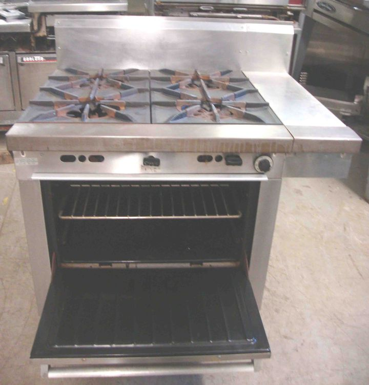 Garland 4 Burner with Oven