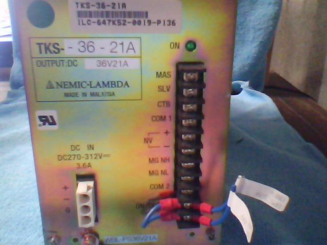 Nemic-Lambda TKS_36-21A Test Equipment