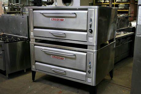 Blodgett Gas Pizza Deck Ovens
