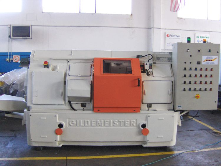 Gildemeister Turning Multispindle lathe Variable AS 32-6