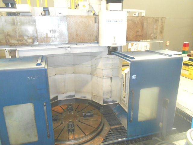 HNK NT 20-25 CNC VERTICAL BORING MILL