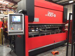 Amada HFE 100/3 Press Brake, 8 axis 100 Ton