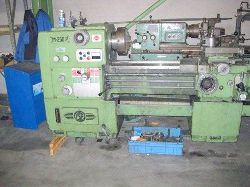 PBR Engine Lathe Max. 1500 rpm TM 250 P