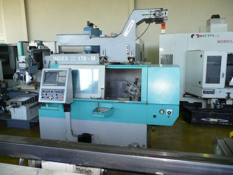 Index CNC Control Variable 170 M 2 Axis
