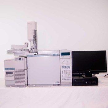 Agilent 6890 GC , 5973 Mass Spec System