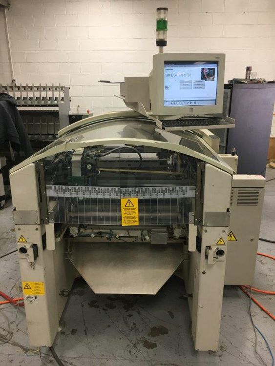 Siemens Siplace 80 S23 HM Placement Machine