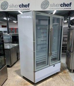 Skope BME1200-A 2 Door Display Refrigerator