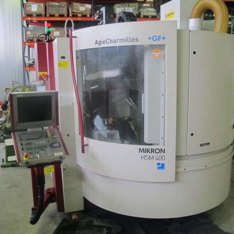 Mikron HSM 400 3 Axis