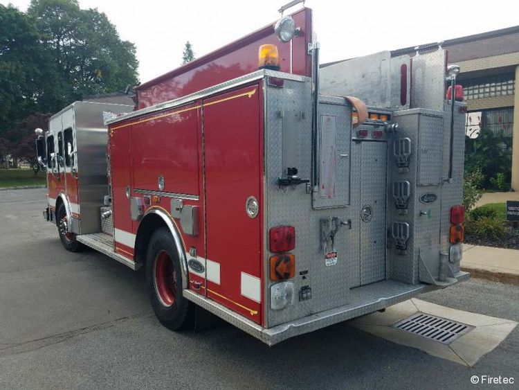 Luverne, Spartan Fire Truck