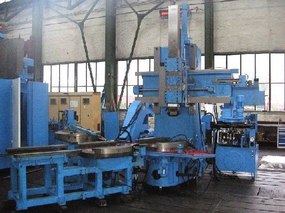 TOS SIEMENS 802D CNC-control Max. 2000 mm/min SKJ 12 2 Axis CNC  	Vertical Turret Lathe - Single Column