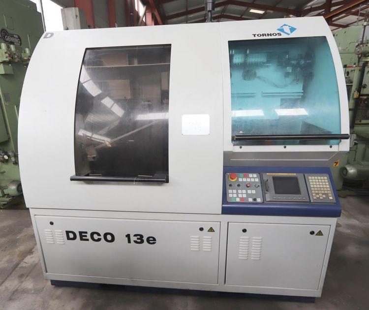 Tornos PNC DECO FANUC 16i-TB 12000 rpm DECO 2000/13e 3 Axis