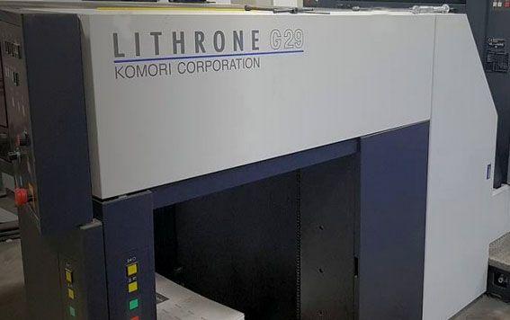 Komori LS840P H-UV 40 x 28 inch