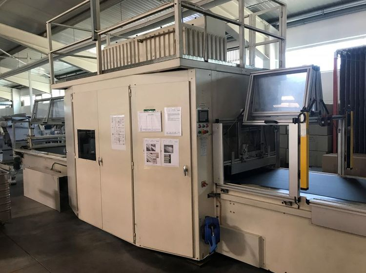 Punching pressure 150T- corrugating - punch area: 2050 x 910 mm