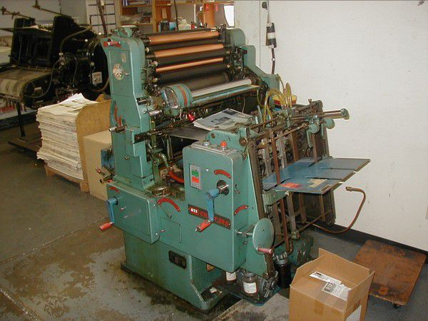 "Chief 20 A, 1 color Offset machine 14"" X 20"""