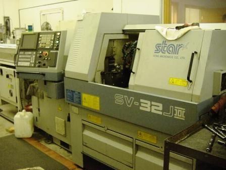 Star CNC Control Max. 7000 rpm SV32JII 3 Axis
