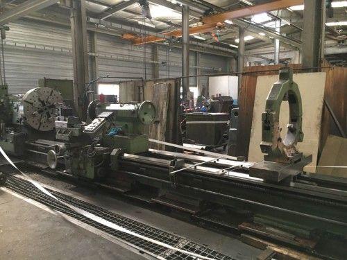 Poreba Engine Lathe 500 rpm TR 135 6m
