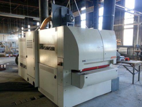 DMC UNISAND K/USK1100M3, Double-sided sanding machine