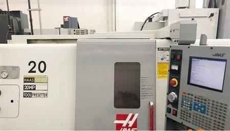 Haas Haas 32 BIT 4000 rpm SL-20 3 Axis