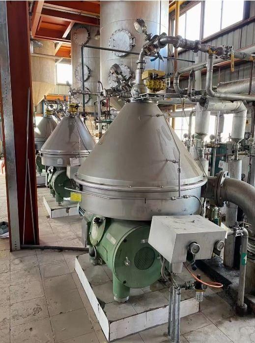 WESTFALIA RSE 150 01 776 Vegetable oil separator