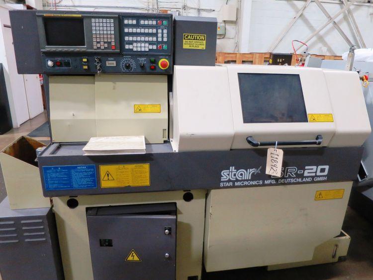 Star Fanuc 16T CNC Controls  STAR SR20