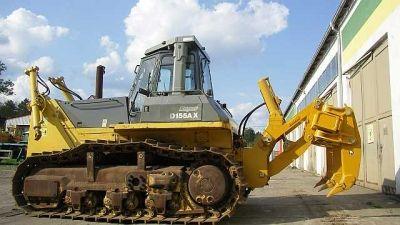 Komatsu D155 AX -3 super with Ripper Bulldozer