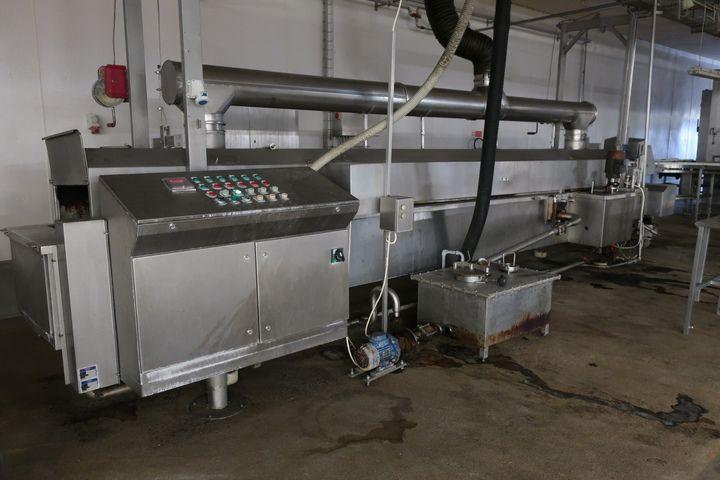 Koppens Continuous Frying Line