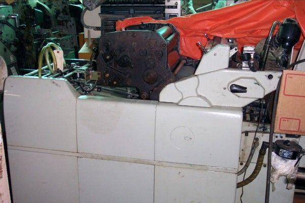 Hamada 660, 2 colors Offset machine