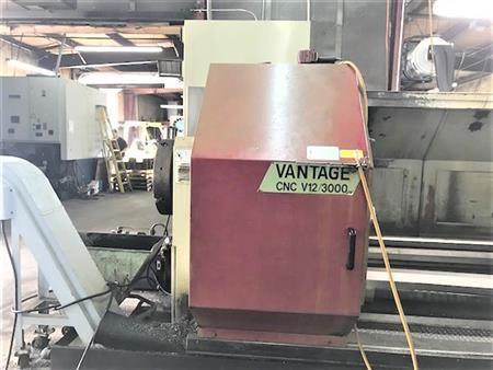 """Vantage Fanuc 0T 400 rpm CNC V12/3000 w/ 12.5"""" Bore 3 Axis"""