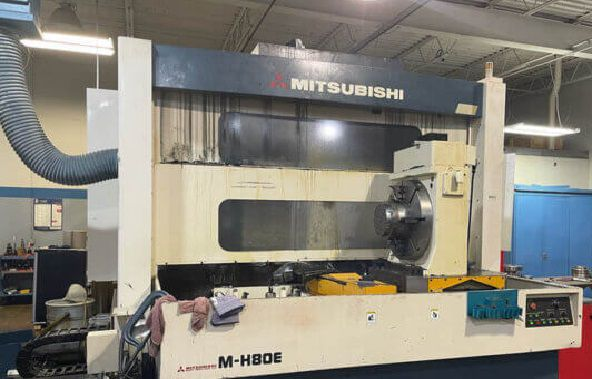 Mitsubishi M80E CNC Horiozntal Machining Center 4 Axis