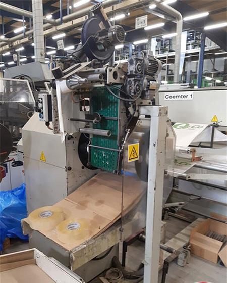 Coemter T-ROLL 13090 45/45 Bag making machine Bags on rolls