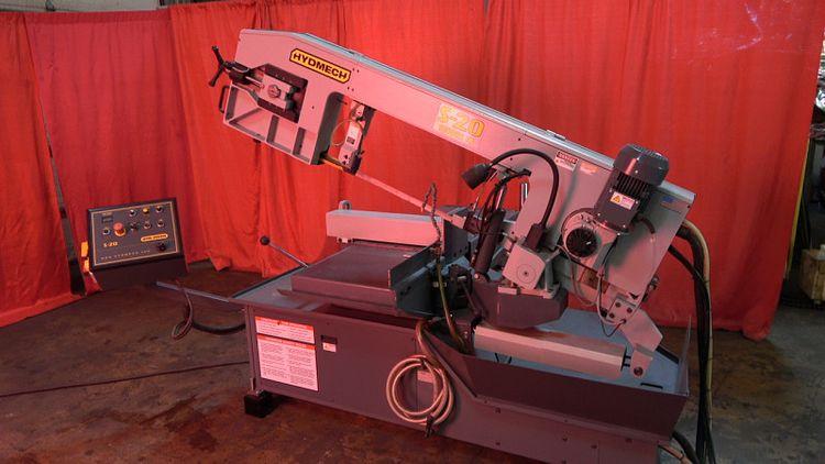 HydMech S-20M HORIZONTAL BAND SAW Semi Automatic