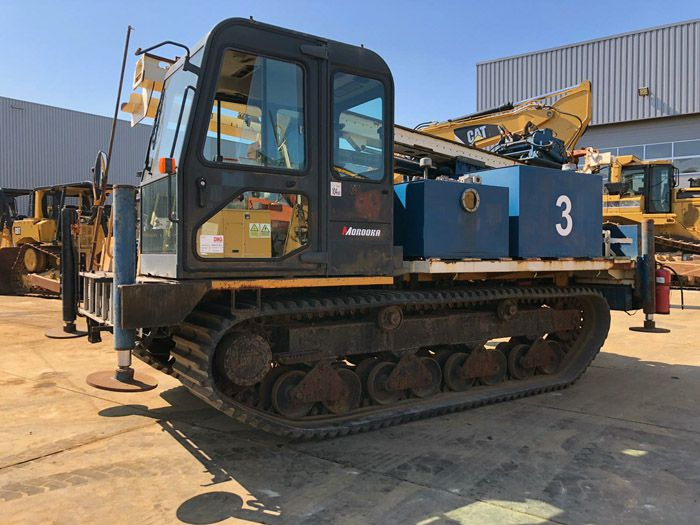 MST-1500 Crawler Drill