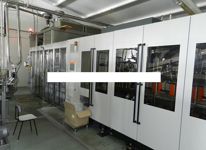 Krones Filling Line for Water and CSD in PET Bottles
