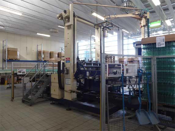 Kettner Pressant Universal bulk glass depalletizer