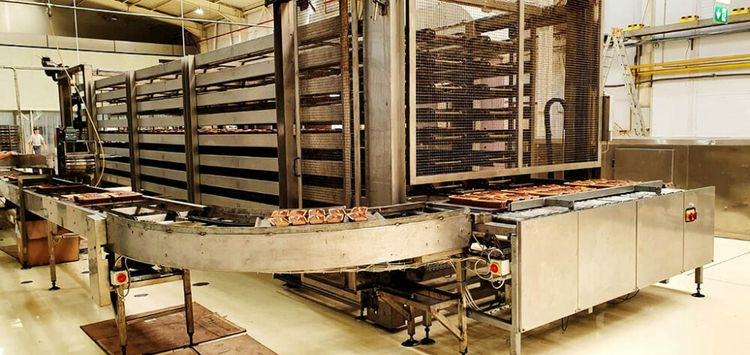 Den Boer tray production line 360-400 trays per hour