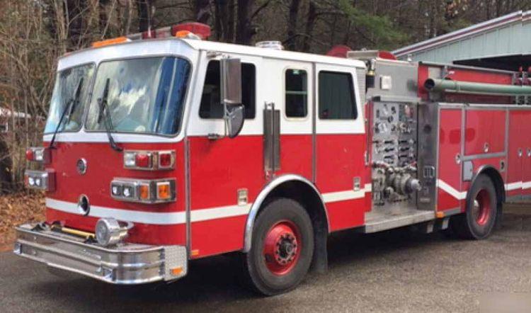 Sutphen Fire Truck