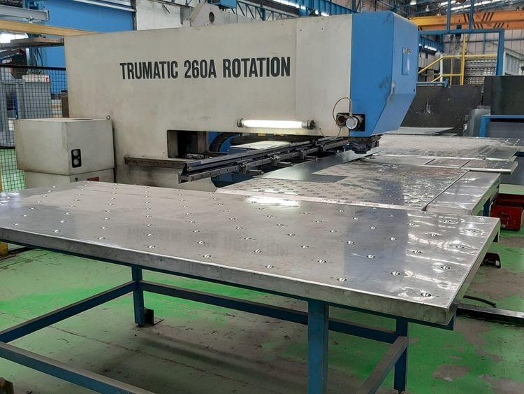 Trumpf Trumatic 260A Rotation 250 kN