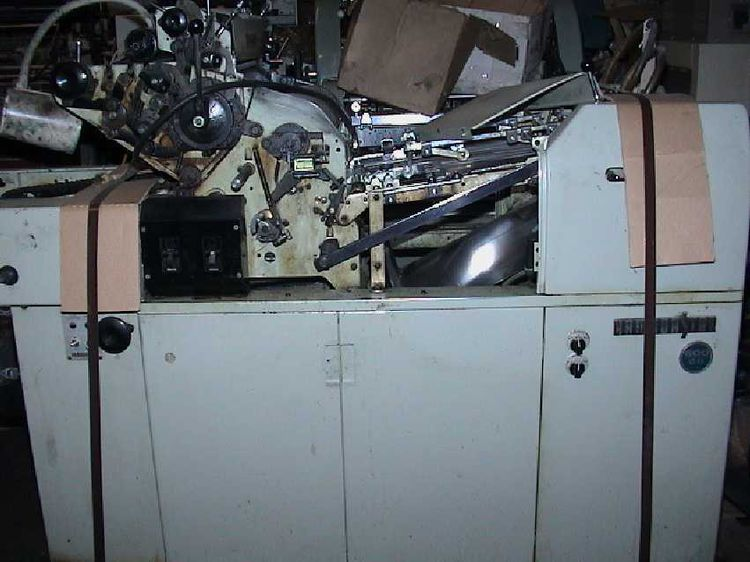 Hamada 600, 1 color Offset machine