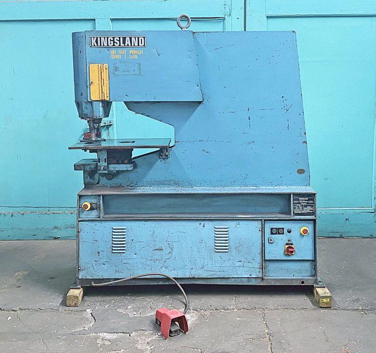 Kingsland 24 1/2″ Single Punch Hydraulic Punch Press, 125P Max. Capacity: .98″ x 1.37″