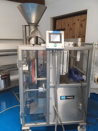 GKS  UP300 Form Fill and seal machine