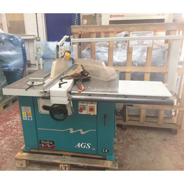 Wadkin AGS 430, Panel saw