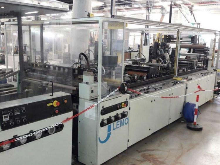 Lemo IV 1100 TU ST Diaper bagmaking machine