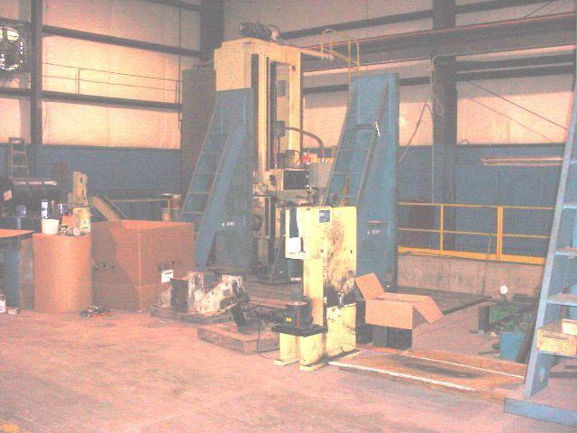 "Carlton CNC FLOOR TYPE HORZONTAL BORING MILL 5"" Max. 1500 rpm"