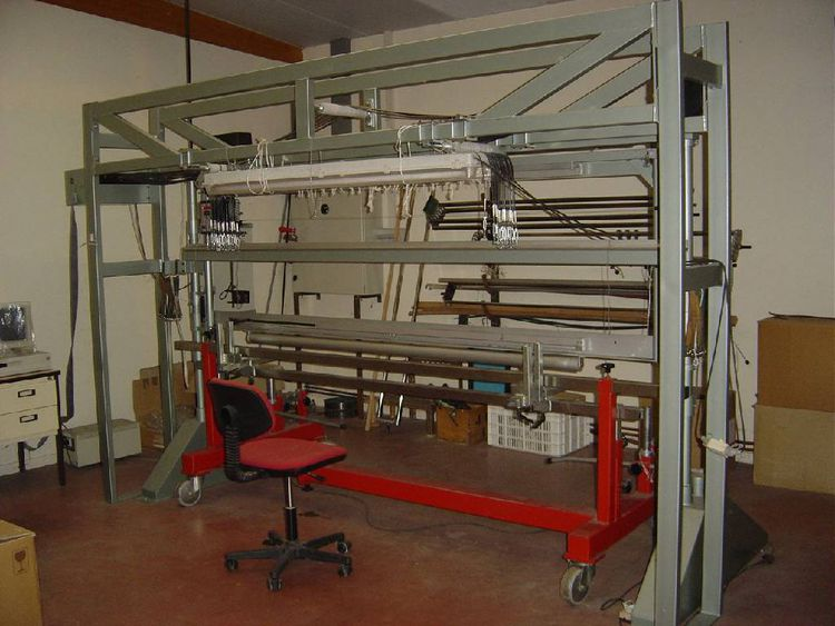 Knotex Drawing in machine type HM 1A PLUS