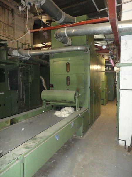 Trützschler BDT 019, MPM 10 Cotton Blowroom