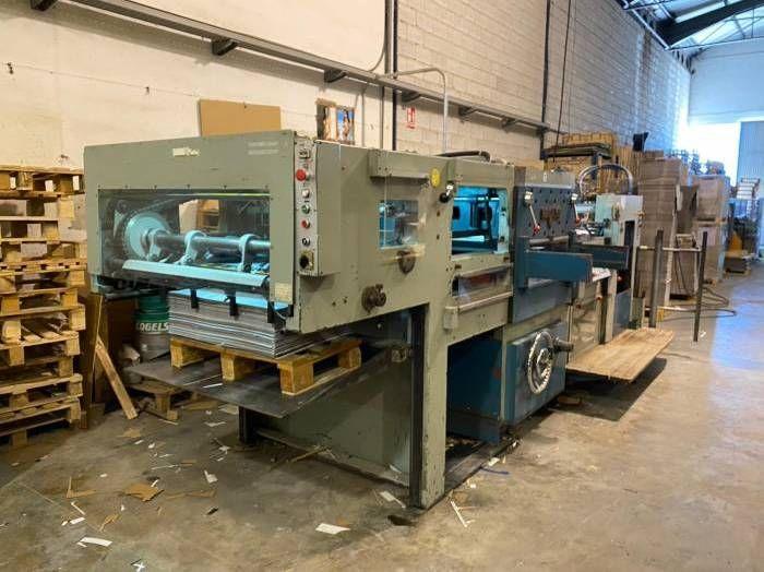 Iberica LM55, Die Cutting machine