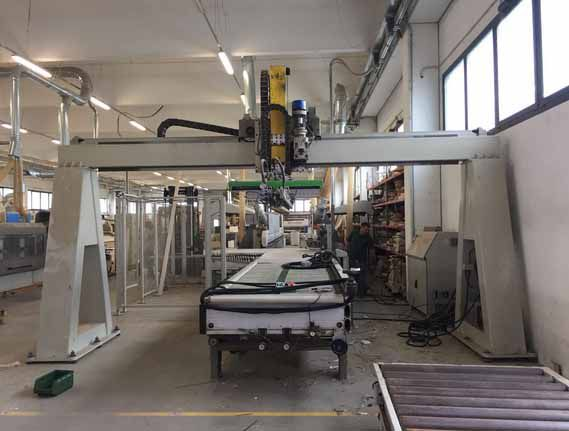 Biesse SELECTA SC UNLOADER WITH DOUBLE DISCHARGE STATION