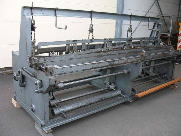 Wafios WGM 300 / UL 1 Semi automatic crimped mesh line